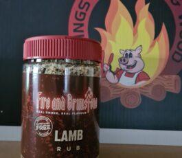 Fire and Brimstone Lamb Rub