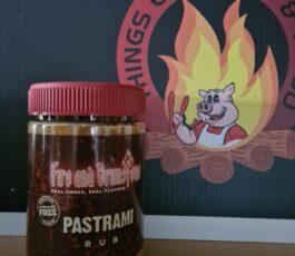 Fire and Brimstone Pastrami Rub